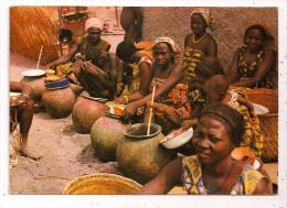 Tchad - Vente de la bi�re au march� de DOHER - 10,5 x 14,7 cm