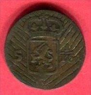 1/16 BATAVE 1808 B 8 - Indonesia