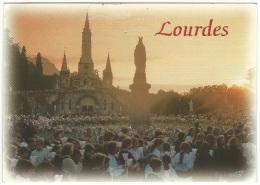 """Lourdes -  """"La Basilica E La Vergine Incoronata"""" - Lourdes"""