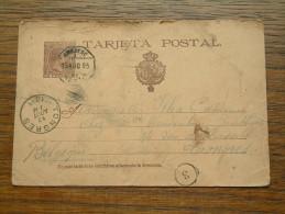 CP / BK - Entre Ambdesc ( ? ... ) Et Tongres / Anno 1895 ( Zie/voir Foto Voor Details ) !! - Cartes Postales