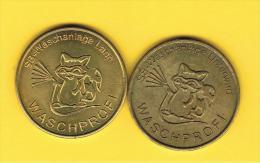 FICHAS - MEDALLAS // Token - Medal -  Ficha Lavacoches WASCHPROFI Austria - Jetons & Médailles