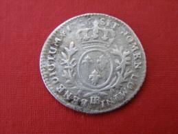 STRASBOURG BB  1/10 Iem  D ECU SOUS  LOUIS XV - 987-1789 Könige