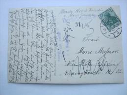 1915, Suchstempel Aus  Neukölln . Karte Aus Cottbus - Deutschland