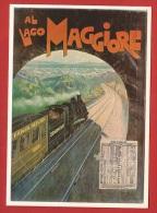 YLIT-19 Repro Affiche Paris-Milan Simplon Sempione Al Lago Maggiore, 1906, Non Circulé - Other Cities