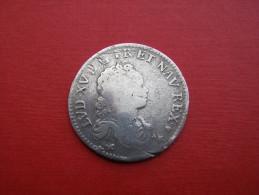 STRASBOURG BB  1/2    ECU SOUS  LOUIS XV   1716 - 987-1789 Könige