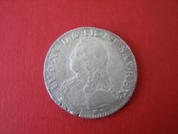 STRASBOURG BB  1  ECU Et 1/2 ECU ...LOUIS XV   ALSACE - 987-1789 Könige