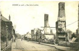 Corbie. La Rue Jules Lardière En 1918. - Corbie