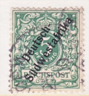 Germany South West Africa  8  (o) - Colony: German South West Africa