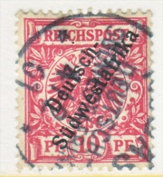 Germany South West Africa  9  (o) - Colony: German South West Africa