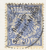 Germany South West Africa  10  (o)  WINDHUK  Cd. - Colony: German South West Africa