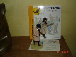 EDITION MOULINSART     IVAN IVANOVITCH SAKHARINE SURENCHERIT DANS TINTIN ET LE SECRET DE LA LICORNE - Tintin