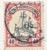 Germany South West Africa  19   (o)   GIBEON  Type  I  Cd. - Colony: German South West Africa