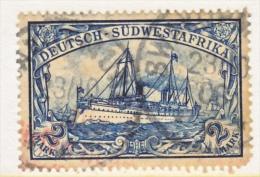 Germany South West Africa  23   (o)   SWAKOPMUND  Type  I  Cd. - Colony: German South West Africa