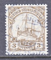 Germany South West Africa  26   (o)   Wmk. - Colony: German South West Africa