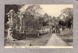 42312    Cambogia,  Angkor - Tom  -  Avenue  Des  Geants, - Cambogia