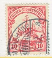 Germany South West Africa  28   (o)   Wmk.  KEETMANSHOOP  Type IV  Cd. - Colony: German South West Africa