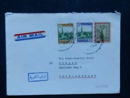 40/741  LETTRE  TO GERMANY - Arabie Saoudite