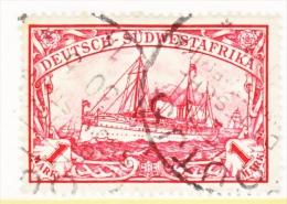 Germany South West Africa  31   (o)   Wmk.  OUTJO  Type  II  Cd. - Colony: German South West Africa