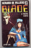 JEFFREY LORD BLADE N° 93 Le Traitre D'Artis - Presses De La Cité