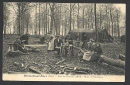 * Breteuil Sur Noye - Hutte De Bucherons - Superbe Scène - Breteuil