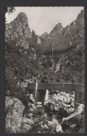 DF / 34 HERAULT / LAMALOU LES BAINS / GORGES D' HÉRIC / CIRCULÉE EN 1953 - Lamalou Les Bains