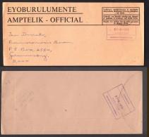 South  Africa, CISKEI, MAGISTRATE ZWELITSHA, Official To Germiston, 1975 - Ciskei
