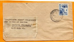 Yugoslavia Old Cover Mailed To USA - 1945-1992 Socialist Federal Republic Of Yugoslavia