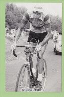 Aniceto UTSET, Faema.  2 Scans. - Cyclisme