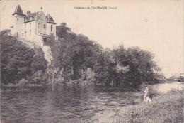 23335 Chateau De Thoraize Doubs -sans éd - Homme Chien - France