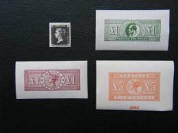 Privé Herdrukken** - Réimpressions Privées** - Commemorative Labels