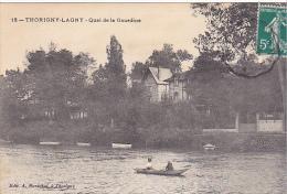"23339 LAGNY THORIGNY ""quai De La Gourdine "" -12 Ed Marechal - Barque - France"