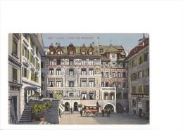9187 - Luzern Hotel Des Balances Pferdekutsche - LU Lucerne