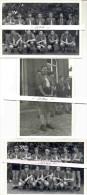 HALEN-CHIRO-3 ORIGINELE FOTOS-LEIDERS-HOOFDLEIDER-GROEP-JAREN 60-GEBRUIKT IN BOEK-HALEN-EEN DUIK IN'T VERLEDEN-2 SCANS! - Halen