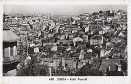 Lisboa/Lissabon - Vista Parcial/Gedeelte Stadsgezicht - Gelopen Kaart - Zwart/wit - Lisboa