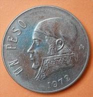 Mexico 1 Peso 1972 UNC - Messico