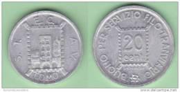 Como  Gettone Da 20 Centesimi  Tram Ad Uso Monetale  1944 - Monetary/Of Necessity