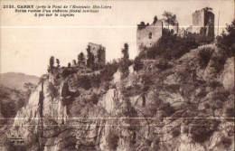 CARRY Ruines D'un Château Féodal - Other Municipalities