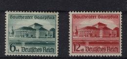 Deutsches Reich Michel No. 673 - 674 ** postfrisch