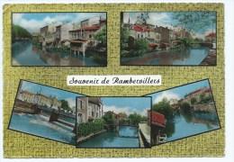 @ CPSM MULTIVUES SOUVENIR DE RAMBERVILLERS, VOSGES 88 - Rambervillers
