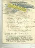 52 - Haute-marne - BOURBONNE-LES-BAINS - Facture PELLETIER-LESPRIT - Fabrique De Voitures – 1919 - 1900 – 1949