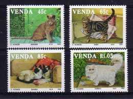 Venda - 1993 - Domestic Cats - MNH - Venda