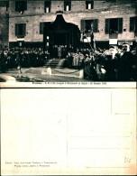 298) Cartolina Di Frosinone-s.m. Il Re Innaugura Il Monumento Ai Caduti 26-1-1924-nuova - Frosinone