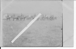 1carte Photo Artillerie Bulgare Pièce Caisson équipage 1914-1918 14-18 Ww1 WWI 1.wk - War, Military