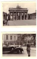 5 Fotos , Berlin 1940 , Der Führer Fährt Im Mercedes Zur Reichskanzlei , Polizei , Brandenburger Tor , Siegessäule !!! - Police & Gendarmerie