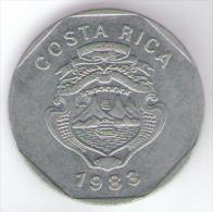 COSTA RICA 10 COLONES 1983 - Costa Rica