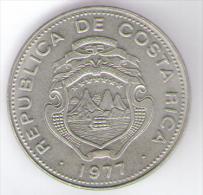 COSTA RICA 1 COLON 1977 - Costa Rica