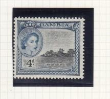 QUEEN ELIZABETH II - 1953 - Gambia (...-1964)
