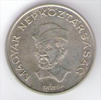 UNGHERIA 20 FORINT 1989 - Ungheria