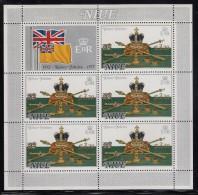 Niue MNH Scott #213 Sheet Of 5 Plus Label $3.20 On $2 Crown - Queen Elizabeth II´s Coronation 25th Anniversary - Niue