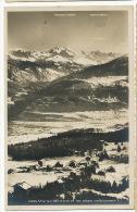 Vue Sur Montana Et Alpes Valaisiennes  4495  Timbrée 1931 Sté Graphique Neuchatel - VS Valais